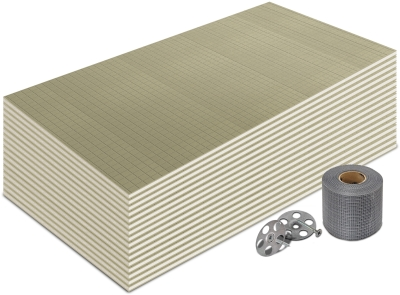 6mm Premium Thermal Substrate Insulation Board 1200x600mm (10m² Kit)