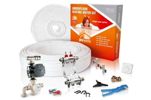 ProWarm Water Heating High Output Kit 30m2 Manual Thermostat