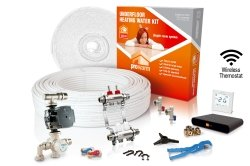 ProWarm Water Heating High Output Kit 30m2 Neo White Thermostat With Hub Kit