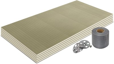 10mm Premium Thermal Substrate Insulation Board 1200x600mm (3m² Kit)