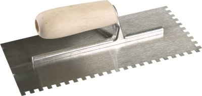 3mm Professional Square Notch Trowel