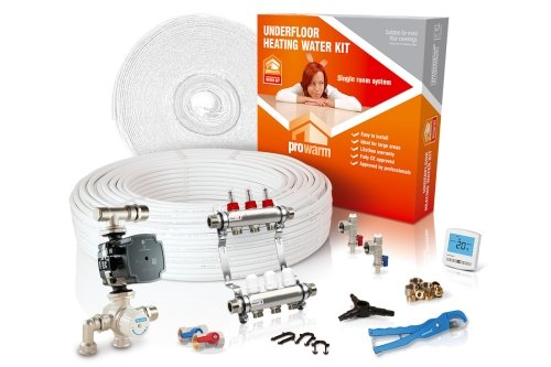 ProWarm Water Heating High Output Kit 60m2 Digital Thermostat