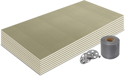 10mm Premium Thermal Substrate Insulation Board 1200x600mm (5m² Kit)