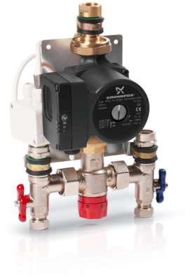 Grundfos Single Circuit Pump & Mixing Valve Unit