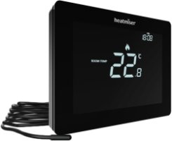 Heatmiser Touch-E Thermostat v2 - Carbon Black