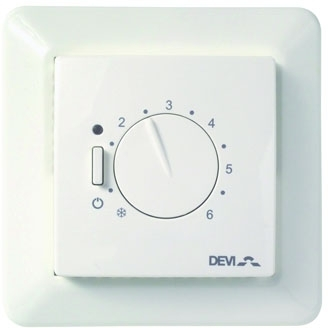 DEVIreg 532 Floor & Air Sensing Manual Thermostat