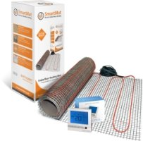 SmartMat 100w/m2 1.0m2 100w Underfloor Heating Kit + Harmoni 25 Thermostat