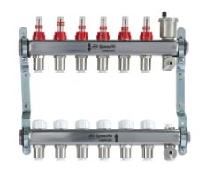 John Guest 6/3 Port Stainless Steel Manifold