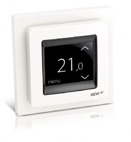 DEVIreg Touch Programmable Thermostat (Pure White)