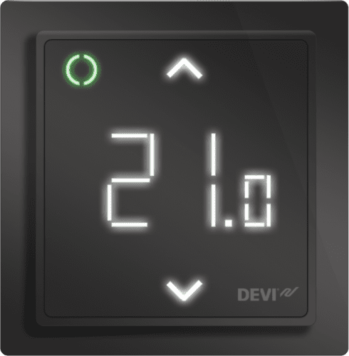 DEVIreg Smart Programmable Thermostat (Black)