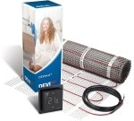 DEVIcomfort 100w/m2 DTIR-100 2.0m2 200W Underfloor Heating Kit + DEVIreg Smart Thermostat (Black)