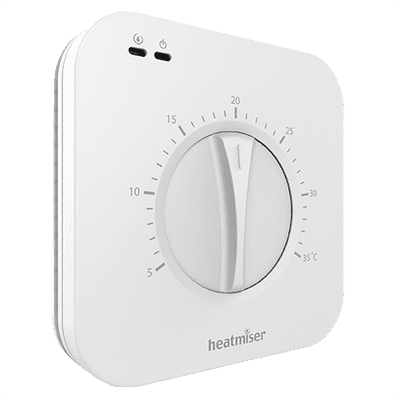 Heatmiser DS1 Manual Dial Thermostat