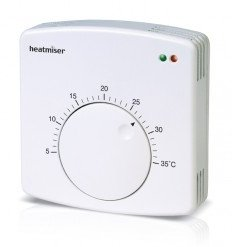 Heatmiser DS1-E Manual Dial Type Thermostat