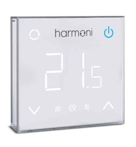 SmartMat 200w/m2 1.5m2 300w Underfloor Heating Kit + Harmoni HTP100 Wi-Fi Programmable Thermostat