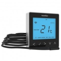Heatmiser neoStat-e Electric Thermostat Black