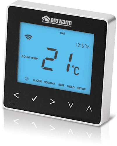 ProWarm ProTouch IQ Thermostat (Midnight Black)