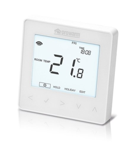 ProWarm ProTouch IQ Thermostat (Arctic White)