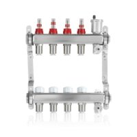 John Guest 4/3 Port Stainless Steel Manifold