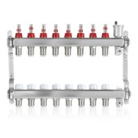 John Guest 8/3 Port Stainless Steel Manifold