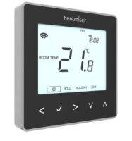 Heatmiser neoStat Programmable Thermostat (Black) V2