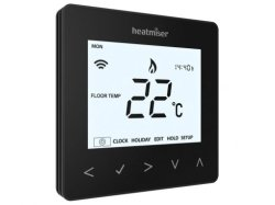 Heatmiser neoAir Smart Thermostat - Black v2