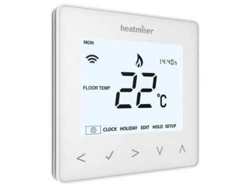 Heatmiser neoAir Smart Thermostat - Glacier White v2