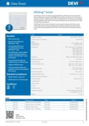 DEVIreg Smart Technical Datasheet