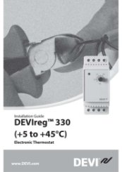 DEVIreg330 Installation Guide