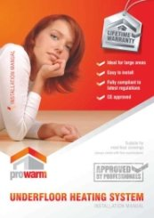 Prowarm Installation Manual