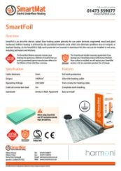 SmartFoil data sheet