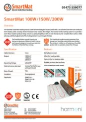 SmartMat data sheet