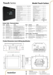 Touch Carbon Datasheet