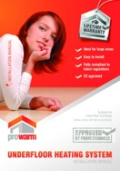 ProWarm Underfloor Heating Installation Manual