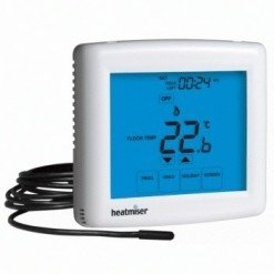 Heatmiser Touch-E White Thermostat