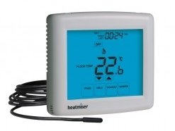 Heatmiser Touch-E Silver Thermostat