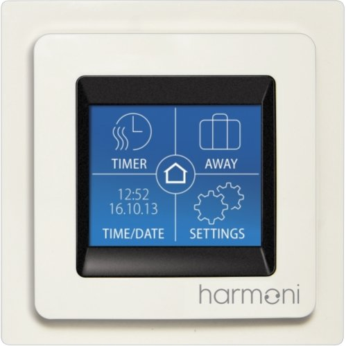 SmartMat 150w/m2 18.0m2 2700w Underfloor Heating Kit + DEVIreg Touch Programmable Thermostat (Pure White)