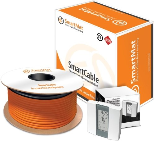 SmartCable 20 2.5-3.5sqm, 650w Kit + Aube TH232 Thermostat