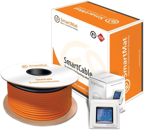 SmartCable 20 28-36sqm, 6490w Kit + DEVIreg Touch Programmable Thermostat