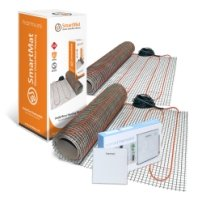 SmartMat 200w/m2 3.0m2 600w Underfloor Heating Kit + Harmoni HTP100 Wi-Fi Programmable Thermostat