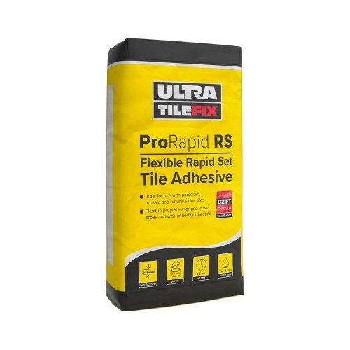 Ultra-Tile ProRapid RS Rapid Set Flexible Tile Adhesive (White)